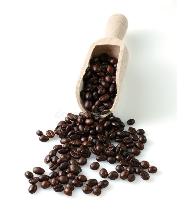Kom zwarte koffie royalty-vrije stock foto's