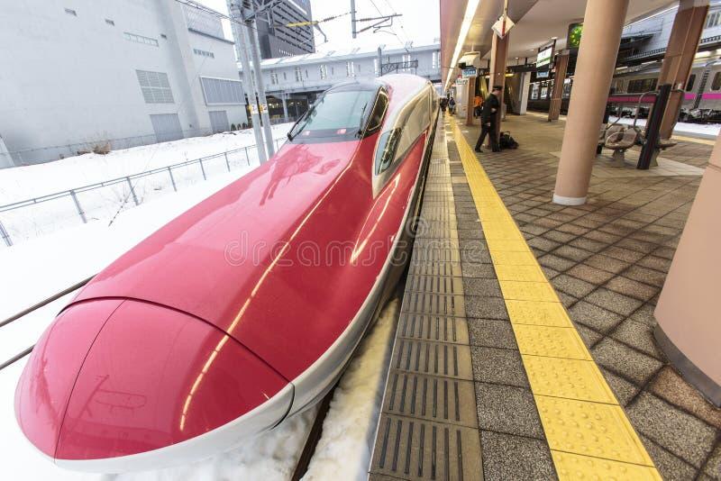 Komachi superbe Shinkansen d'akita image libre de droits