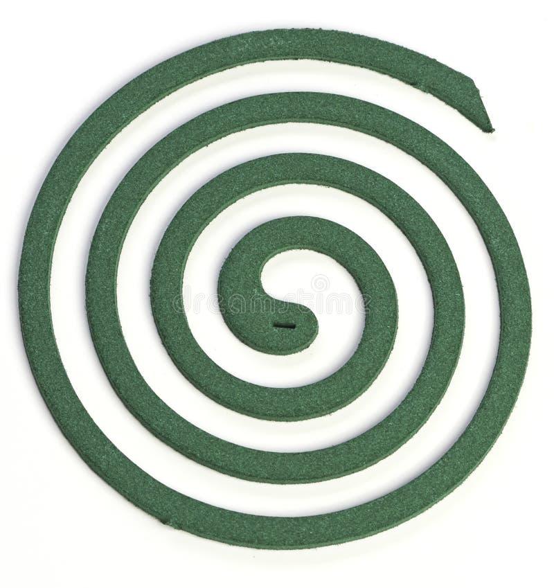 komar spirala obraz stock