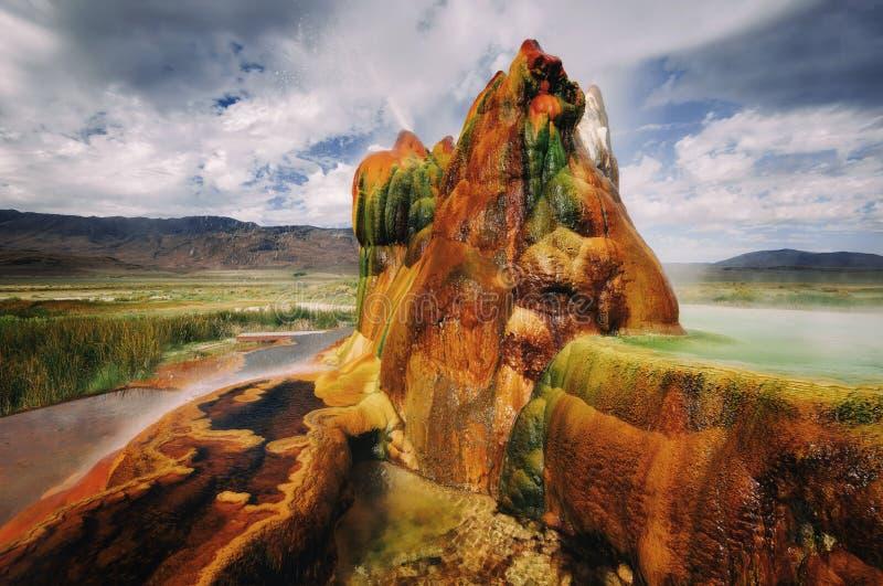 Komarnica Gyser Nevada obrazy royalty free