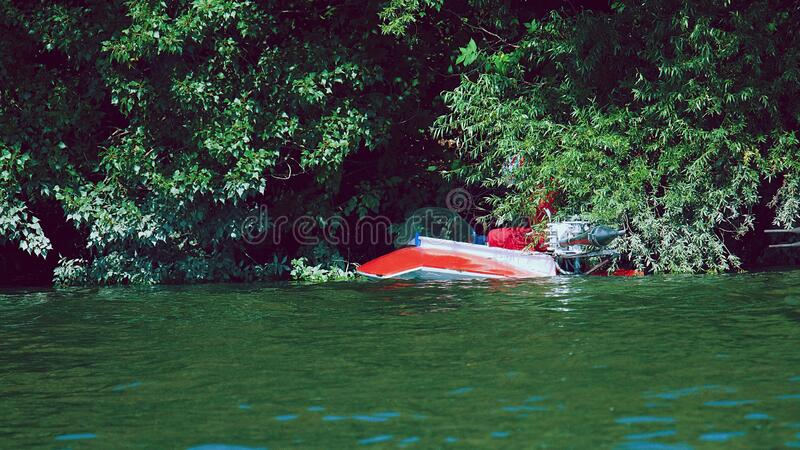 SPEEDBOAT RACE KOMARNO 2020 royalty free stock images