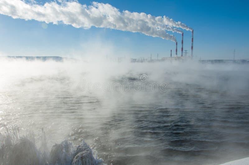 Kombinerad värme och makt för CHP, arkivfoton