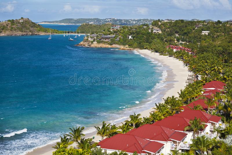 Kombuisbaai, Antigua stock foto's