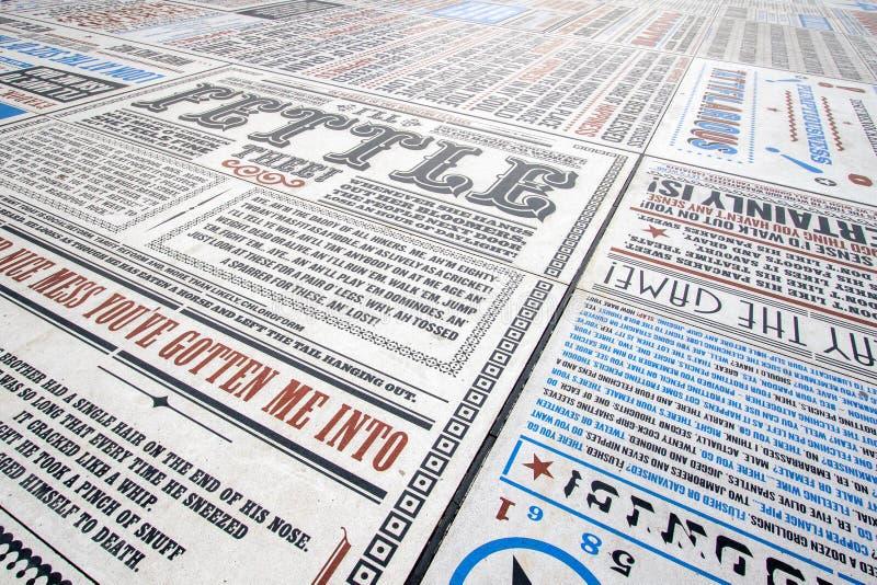 Komediowy dywan obrazy stock