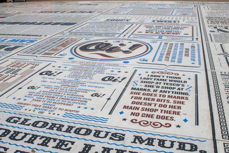 Komediowy dywan zdjęcia stock