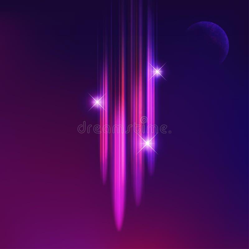 komet stock illustrationer