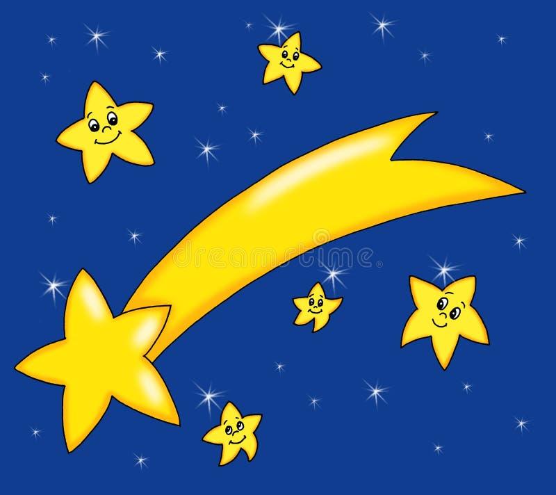 Komet Von Weihnachten Lizenzfreie Stockfotos