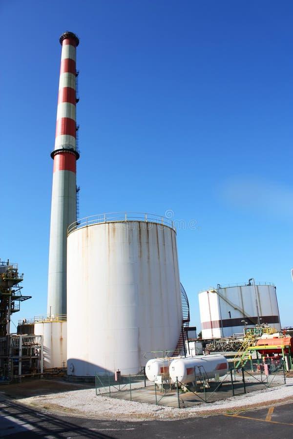 kominowe przemysłowe drymby zdjęcie royalty free