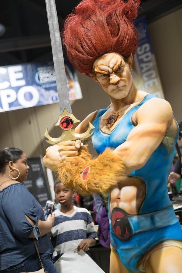 Komische Ausstellung ThunderCat 2 Long Beach s stockfoto