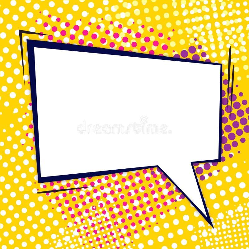 Download Komische Luftblase vektor abbildung. Illustration von farben - 27730897
