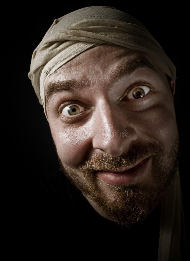 Komischer aussehend Kerl stockfoto