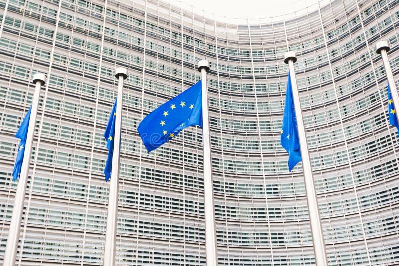 Komisji Europejskich kwatery g??wne w Bruksela, Belgia zdjęcie stock