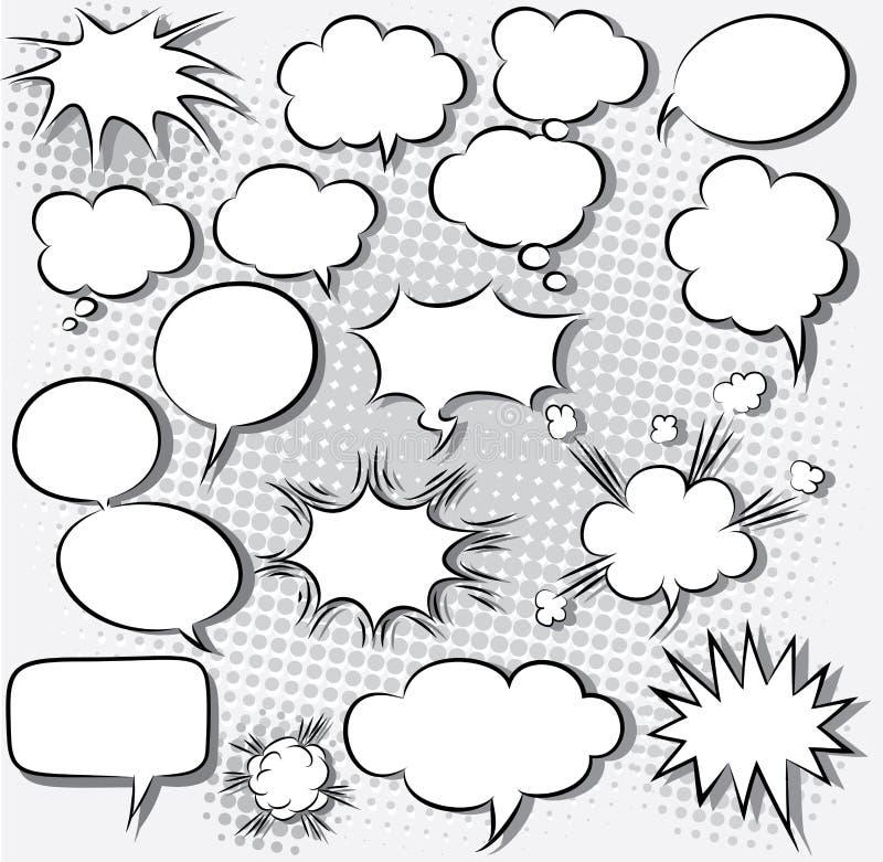 Komiska anförandebubblor