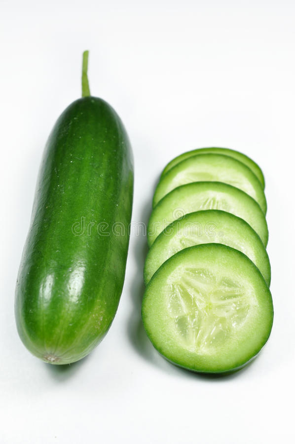 Komkommer stock foto