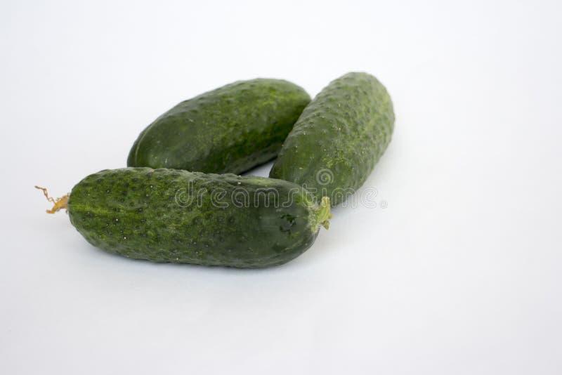 Komkommer, de foto van de komkommervoorraad, plantaardige, groene komkommer, keukenkomkommer royalty-vrije stock fotografie
