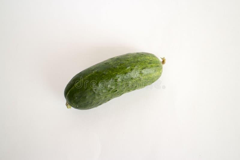 Komkommer, de foto van de komkommervoorraad, plantaardige, groene komkommer, keukenkomkommer, stock foto's