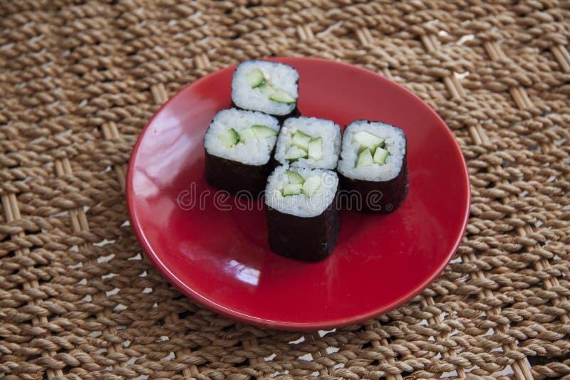 Komkommerbroodjes stock foto