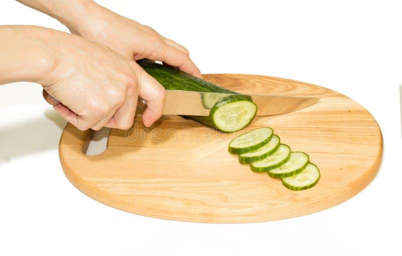 Komkommerknipsel royalty-vrije stock afbeeldingen