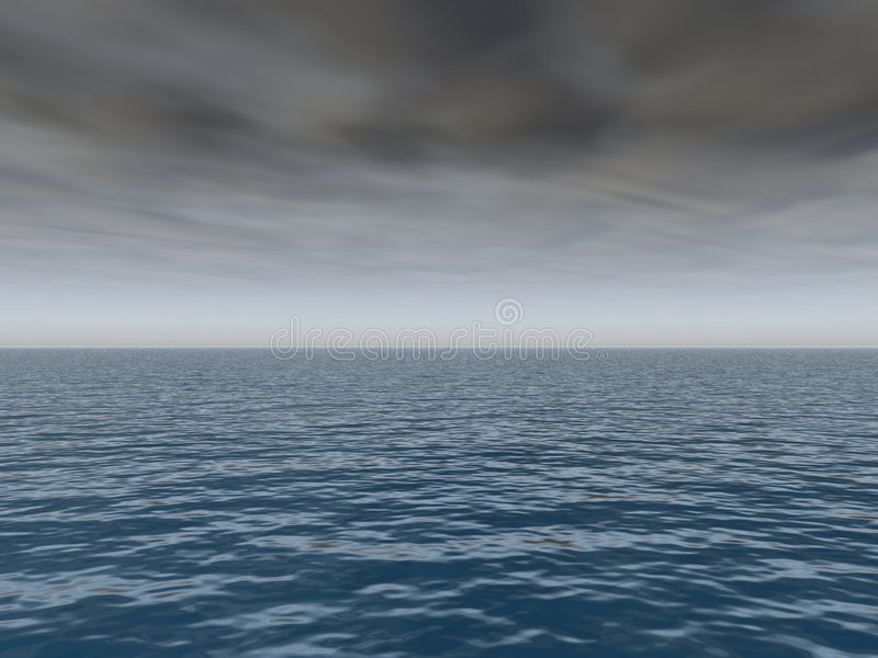 komma över havsstorm vektor illustrationer