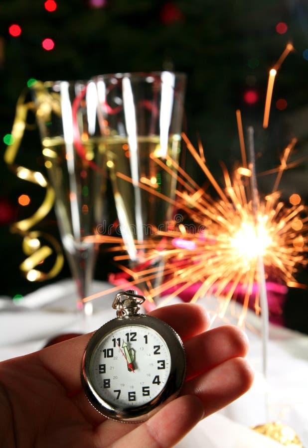 kommande nytt år fotografering för bildbyråer