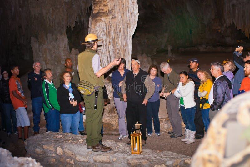 kommandosoldat för carlsbad cavernspark arkivbild