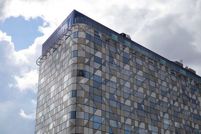 Kommersiell byggnad i Sverige royaltyfria foton