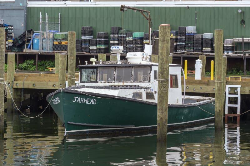 Kommersiell fiskebåt Jarhead arkivfoto