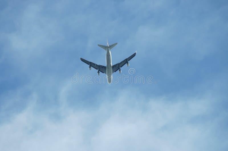 Download Kommersiell jetflygplan arkivfoto. Bild av transport, lopp - 286752