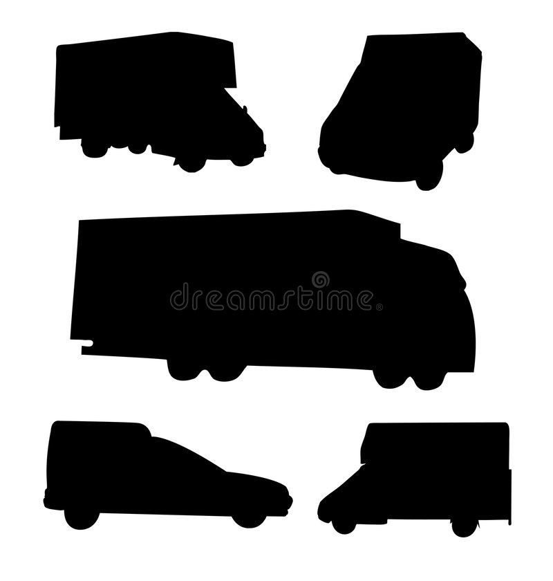 Download Kommersiella medel stock illustrationer. Illustration av transport - 506613