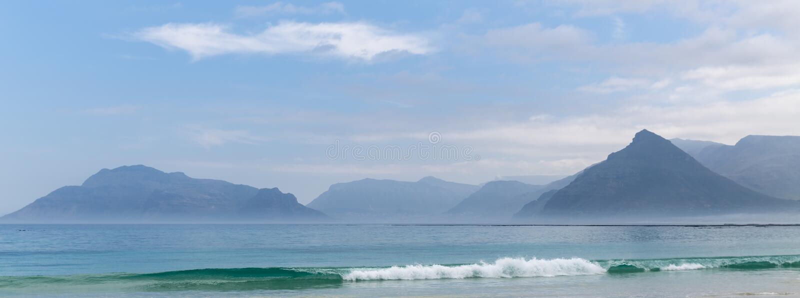 Kommetjie海滩 库存图片