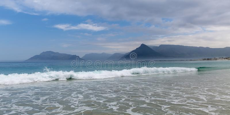 Kommetjie Beach South Africa. A beautiful beach near Cape Town royalty free stock images