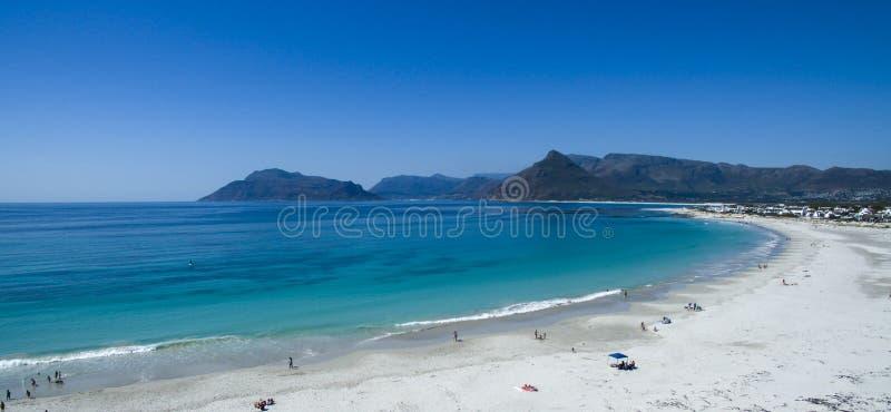 Kommetjie Beach South Africa. A beautiful beach near Cape Town stock images