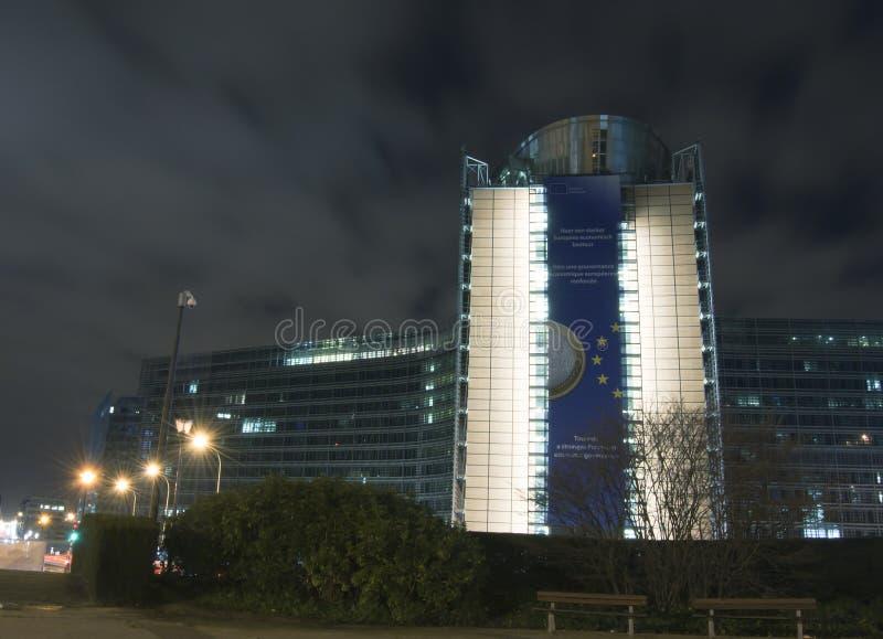 Kommission-Headquarters in Brüssel, Belg lizenzfreie stockfotos