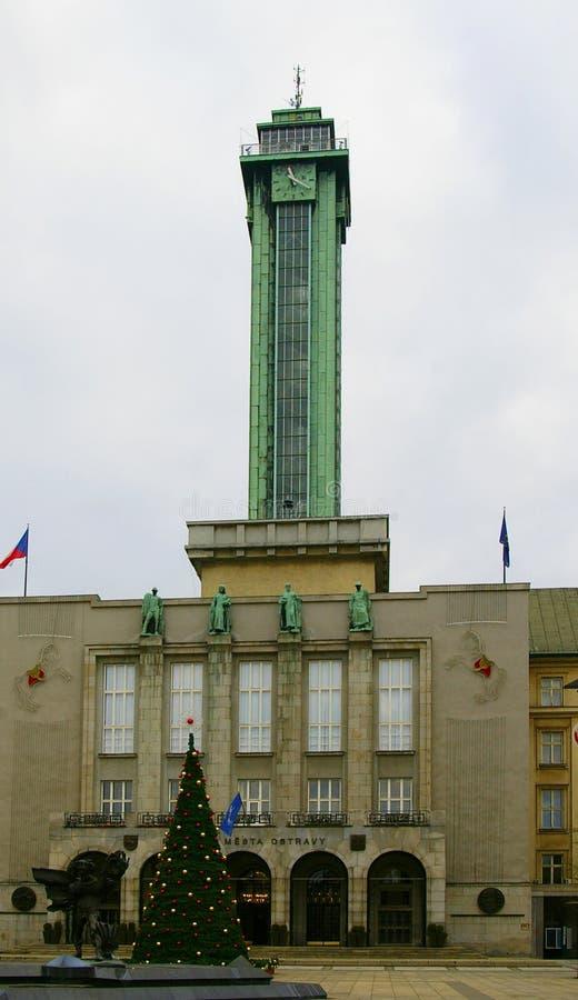 Kommun Ostrava arkivbild