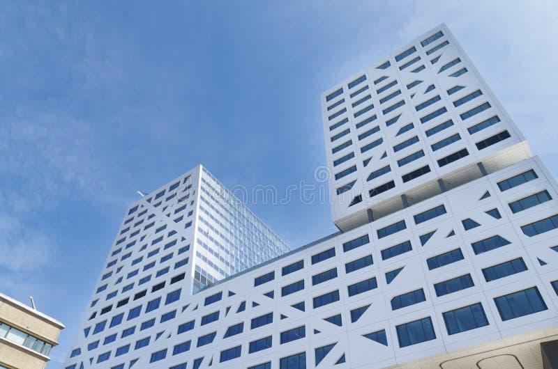 Kommunal kontorsbyggnad i Nederländerna arkivbilder