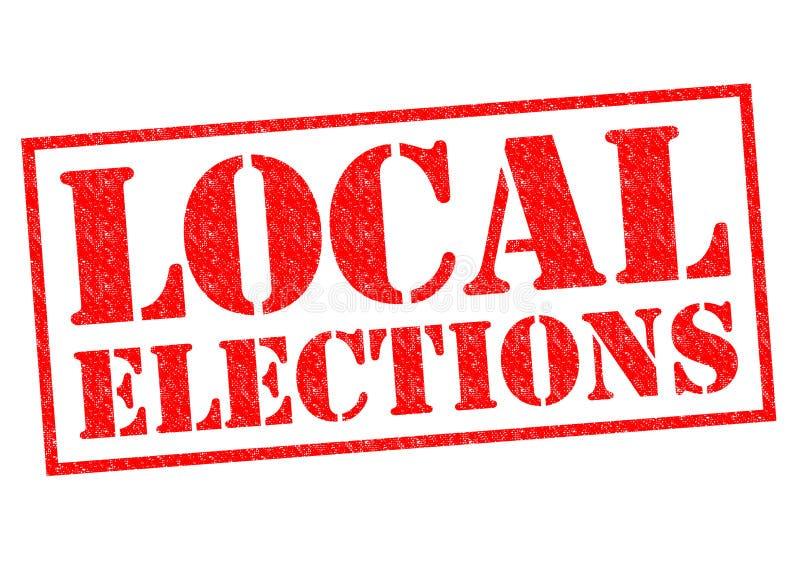 Kommunalwahlen stockfotografie