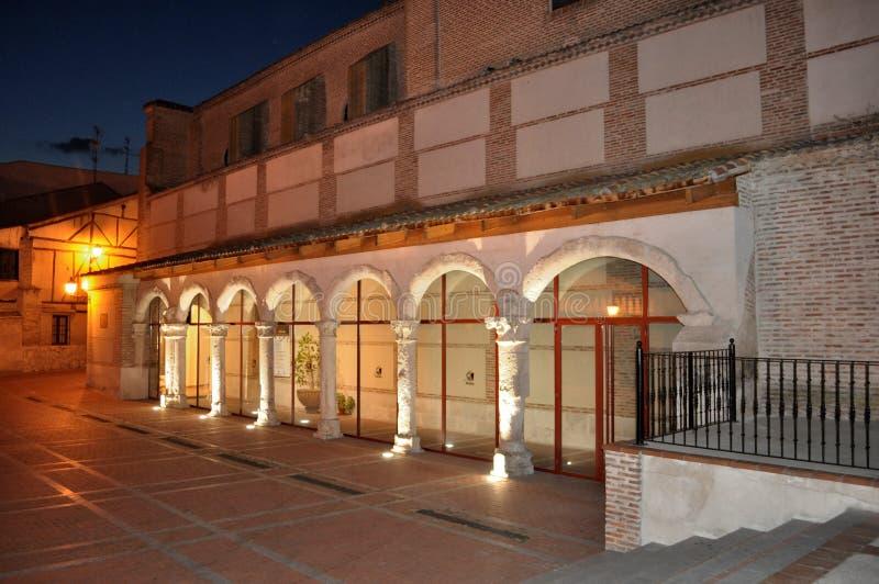 Kommunfullmäktige av Olmedo, Valladolid, Spanien royaltyfri foto