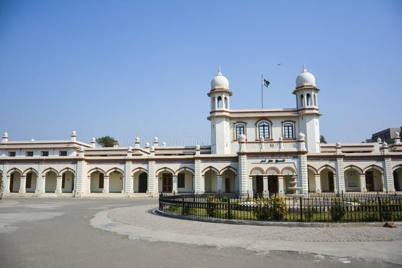 Kommunfullmäktige Faisalabad arkivfoton