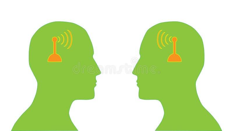 Kommunikation stock abbildung