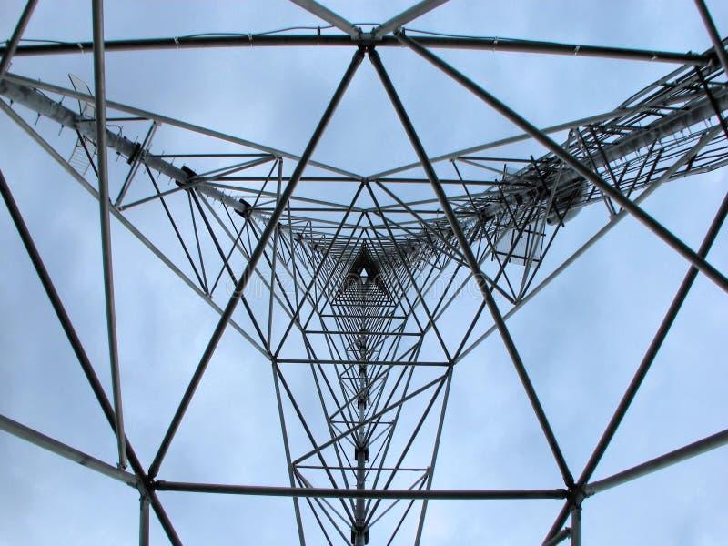 kommunikation inom torn royaltyfri foto