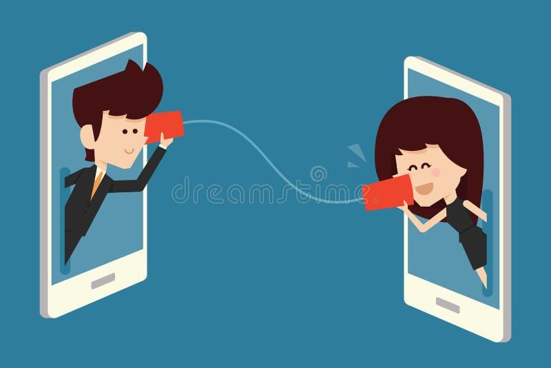 kommunikationer stock illustrationer