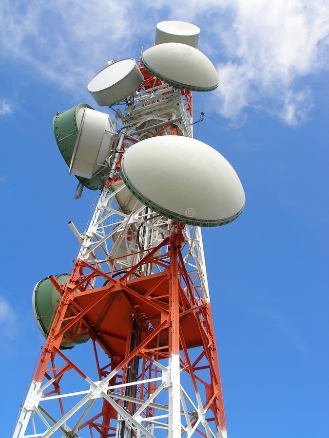 Download Kommunikations-Antenne stockfoto. Bild von mikrowelle, verstärker - 867718