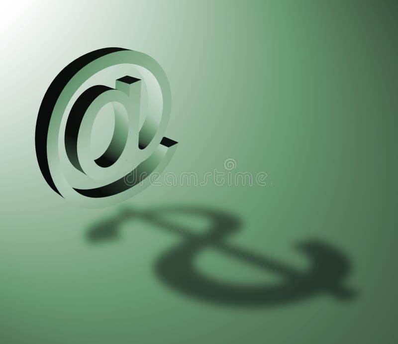 Kommunikations-Thema lizenzfreie abbildung