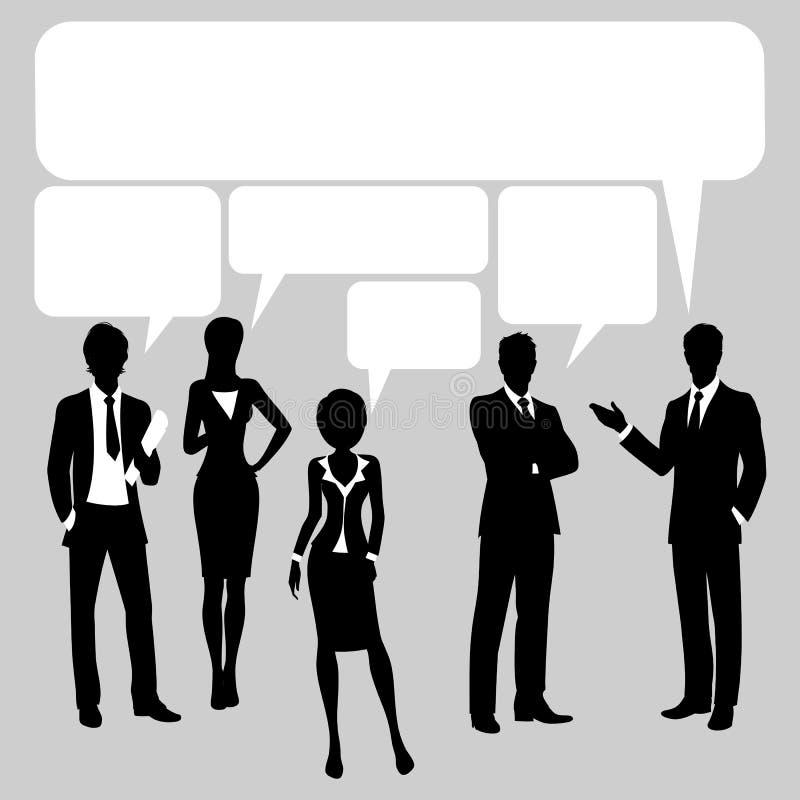 Kommunikationsbakgrund stock illustrationer