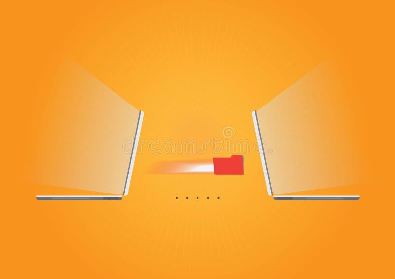 Kommunikationshintergrund, orange stockbilder