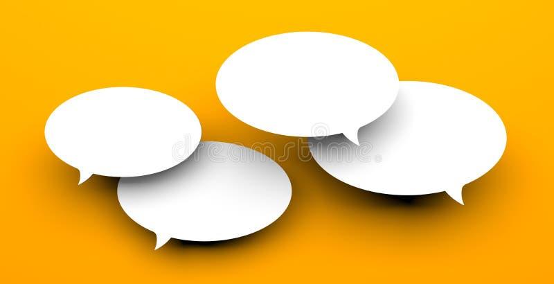 Kommunikationskonzept lizenzfreie abbildung