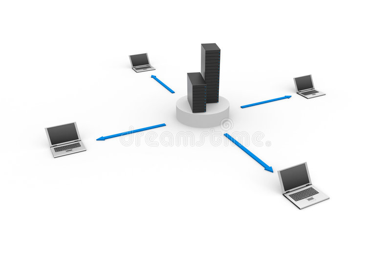Kommunikationskonzept vektor abbildung