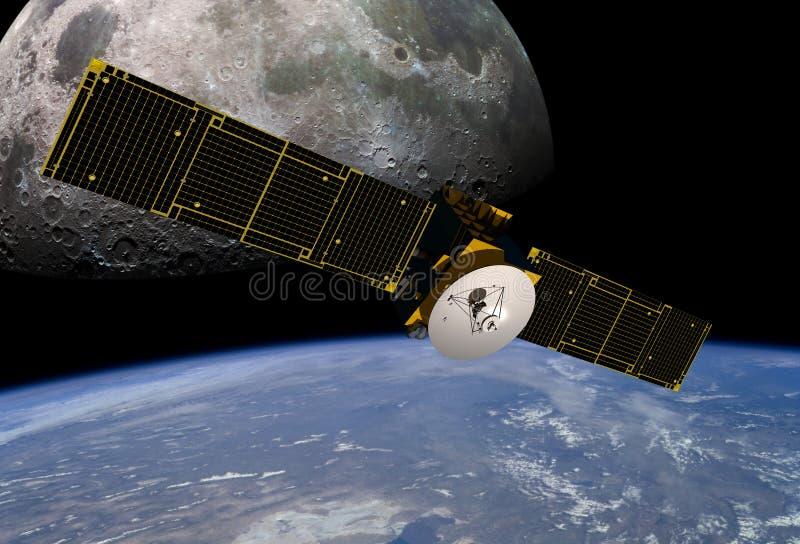 kommunikationssatellit royaltyfria foton