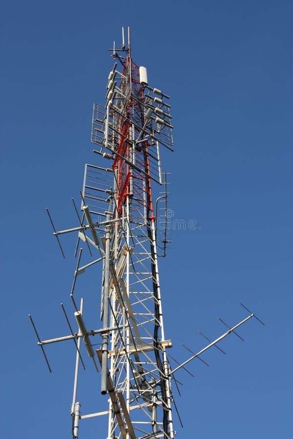 kommunikationstorn royaltyfri bild