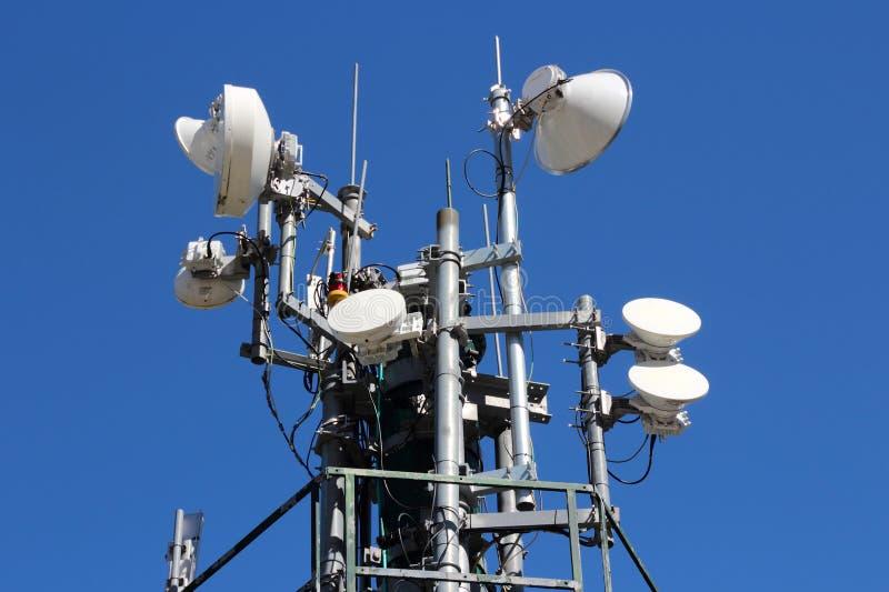Kommunikationsutrustning royaltyfri foto